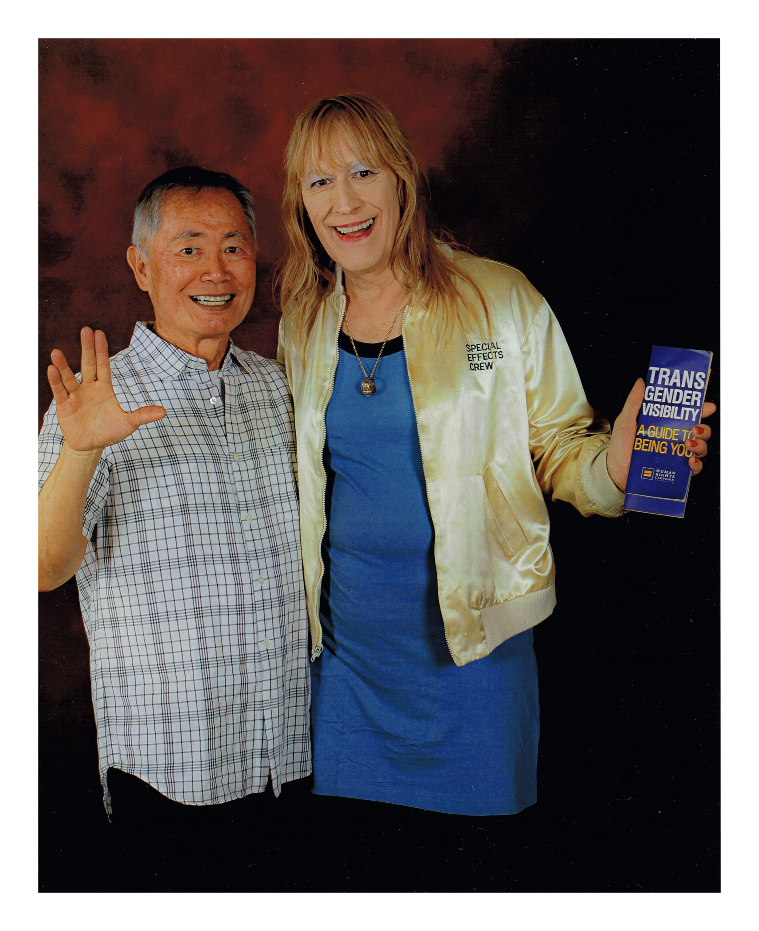 Debbie David was Ensign Russell on Star Trek TNG !
