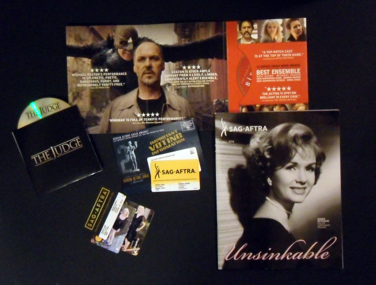 Screeners for last year for the Screen Acors Guild 2015